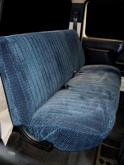 Ford F-250 Navy Scottsdale Seat Seat Covers