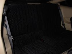Ford Mustang Black Scottsdale Rear Seat Seat Covers