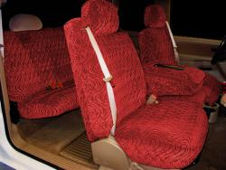 Gmc Sierra Burgundy Diamond Seat Seat Covers