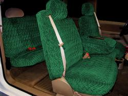 Gmc Sierra Green Diamond Seat Seat Covers