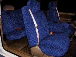 Gmc Sierra Navy Diamond Seat Seat Covers