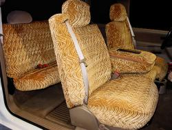 Gmc Sierra Tan Diamond Seat Seat Covers