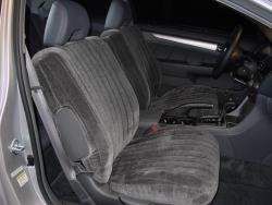Honda Accord Charcoal Vel Quilt Seat Seat Covers