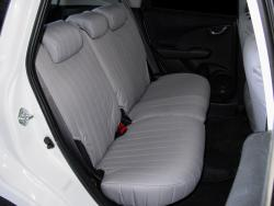 Honda Fit Silver Cordura Rear Seat Seat Covers