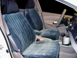 Honda Insight Navy Madrid Seat Seat Covers
