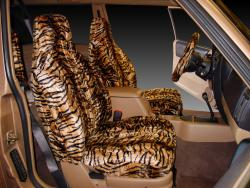 Jeep Cherokee Gold Tiger Velour Seat Seat Covers