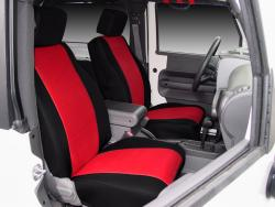Jeep Wrangler Red Neoprene Seat Seat Covers