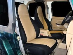 Jeep Wrangler Tan Neoprene Seat Seat Covers