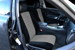Lexus Is350 Ttv Black With Charcoal Suede Insert Seat Seat Covers