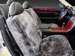 Lexus Sc430 Charcoal Sheepskin Seat Seat Covers
