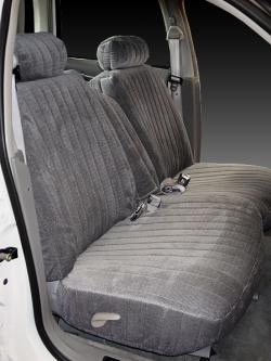 Lincoln Town Car Silver Madrid Seat Seat Covers