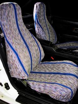 Mazda Miata Medium Blue Saddle Blanket Seat Seat Covers