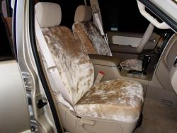 Mercury Mountaineer Tan Imitation Sheepskin Seat Seat Covers