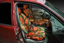 Mercury Mystique Orange Camo Seat Seat Covers