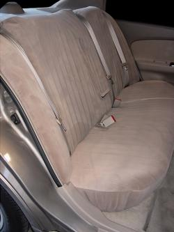Nissan Altima Taupe Dorchester Rear Seat Seat Covers