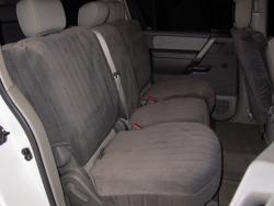 Nissan Armada Charcoal Dorchester Mid Seat Seat Covers