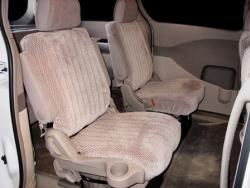 Nissan Quest Taupe Scottsdale Mid Seat Seat Covers