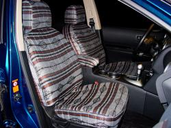 Nissan Rogue Grey Aztec Seat Seat Covers