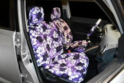 Scion Xb Purple Hawaiian Seat Seat Covers