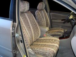 Toyota Corolla Tan Saddle Blanket Seat Seat Covers