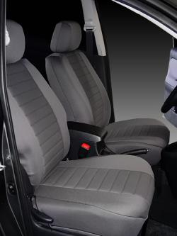 Toyota Matrix Single Tone Grey Neoprene Seat Seat Covers