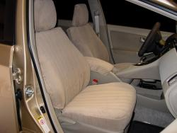 Toyota Prius Taupe Dorchester Seat Seat Covers