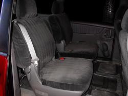 Toyota Sienna Charcoal Dorchester Mid Seat Seat Covers