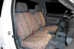 Toyota Tacoma Grey Saddle Blanket Seat Seat Covers