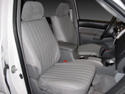 Toyota Tacoma Silver Vinyl Seat Seat Covers
