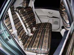 Toyota Venza Tan Aztec Rear Seat Seat Covers