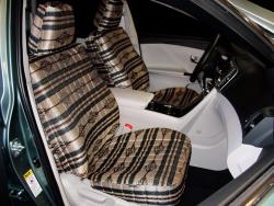 Toyota Venza Tan Aztec Seat Seat Covers
