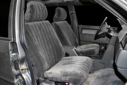 Volvo 940 Charcoal Vel Quilt Seat Seat Covers