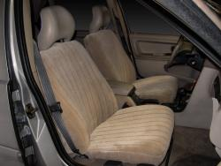 Volvo S70 Tan Vel Quilt Seat Seat Covers