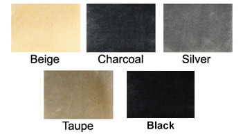 Fleece swatches