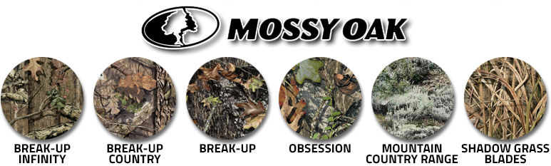 Camouflage Mossy Oak swatches