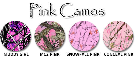 Camouflage Pink swatches