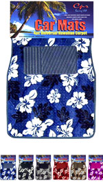 Hawaiian Floor Mats, Universal Fit
