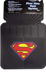 Superman Floor Mats, Universal Fit