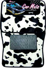 Cow Floor Mats, Universal Fit